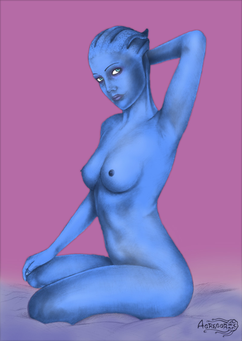 liara t'soni how old is Ellie trials in tainted space