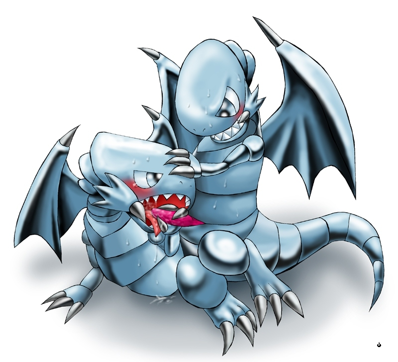 cartoon blue white eyes dragon Eris billy and mandy hentai