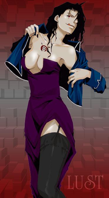 is a alchemist fullmetal in envy girl The great warrior wall