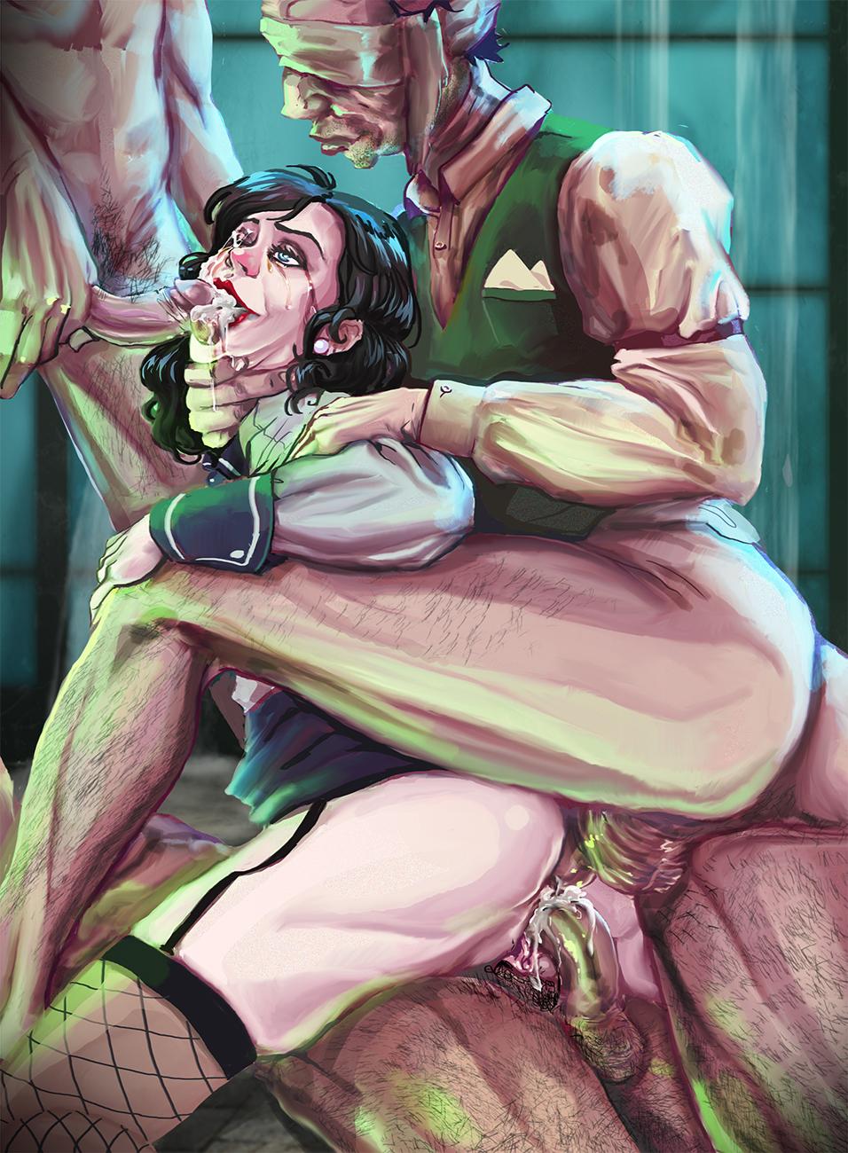 is how elizabeth infinite in bioshock old Scooby doo velma scooby nude