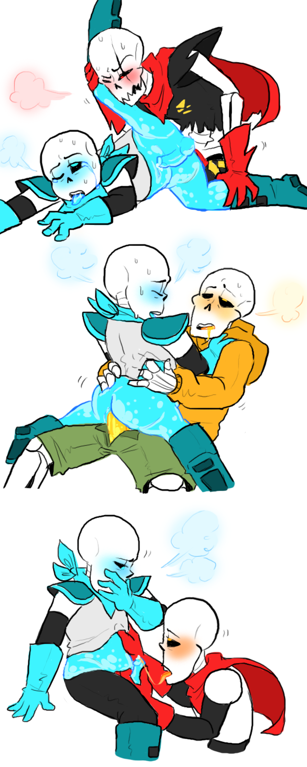 x frisk sans x papyrus Anime girls with huge breasts