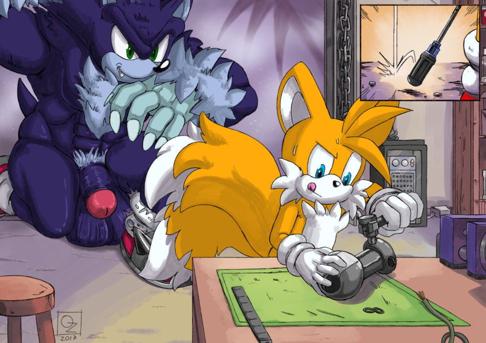 tails the and sonic werehog Naruto x android 18 fanfiction