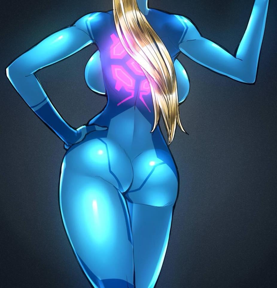 zero samus butt expansion suit .hack//tasogare no udewa densetsu