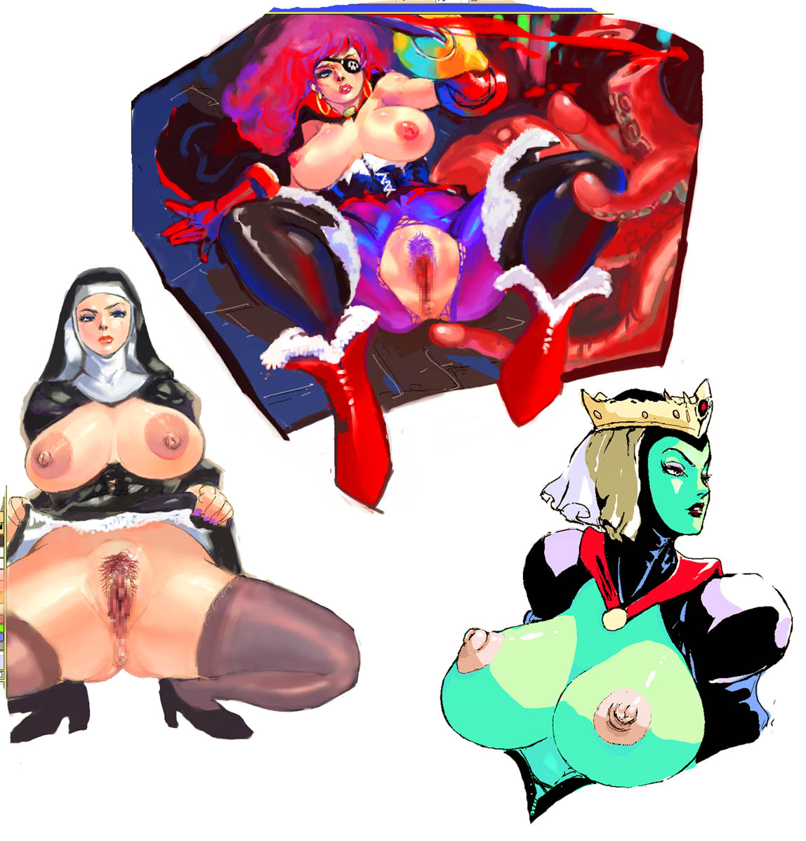 after evil ever the queen high Mavis from hotel transylvania nude