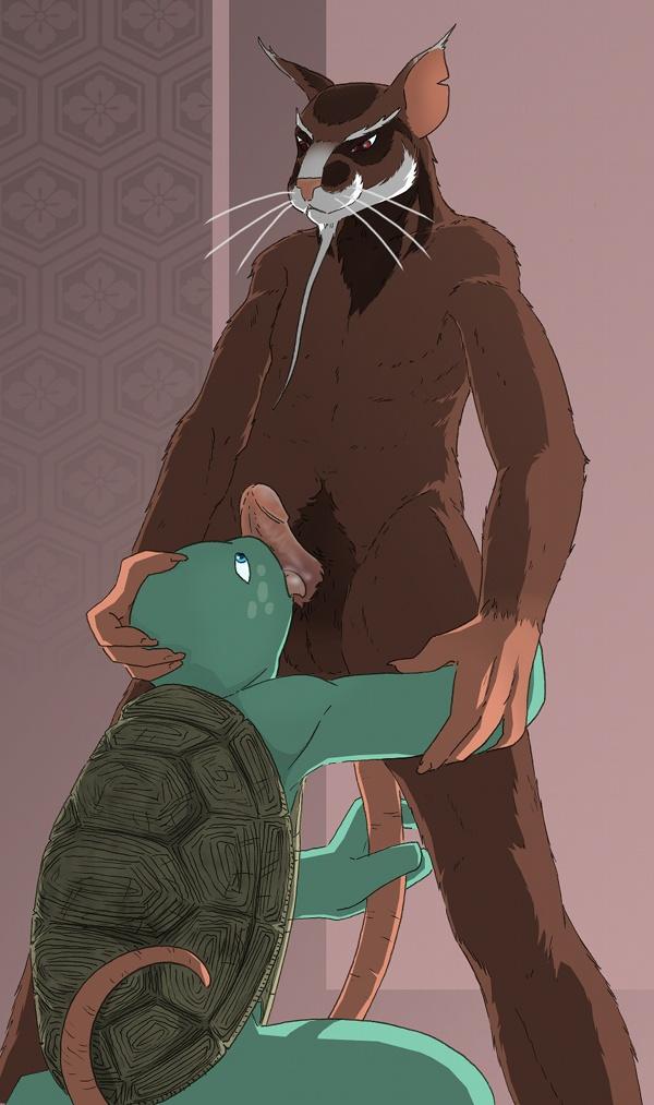 teenage ninja karai mutant turtles Iowa (kantai collection)