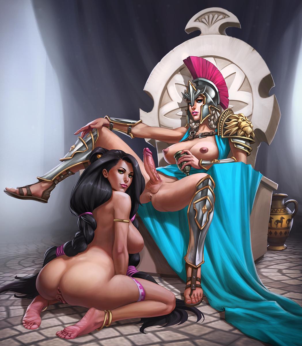 opala farah queen of legend Dead or alive 5 christie
