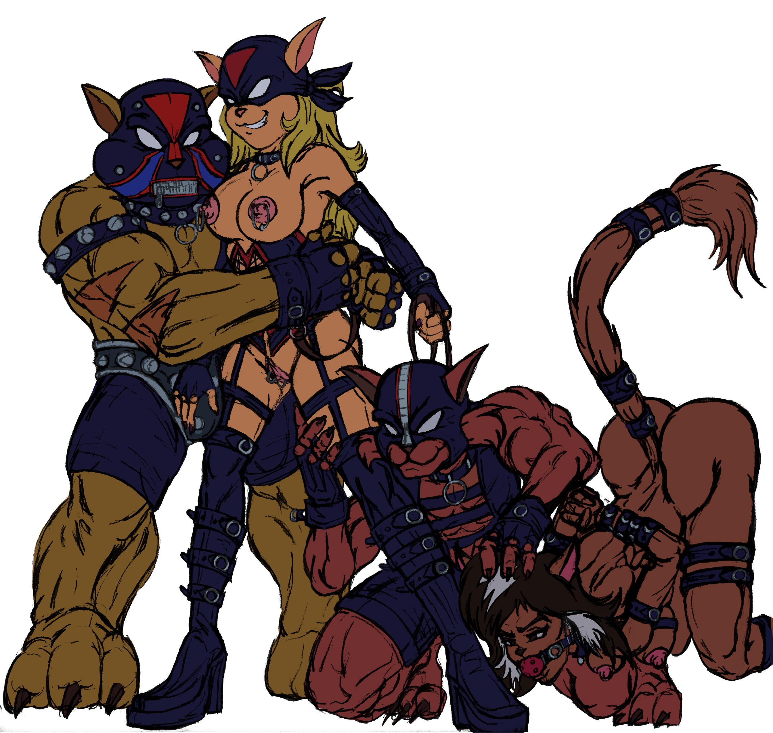swat callie kats briggs from The venture bros