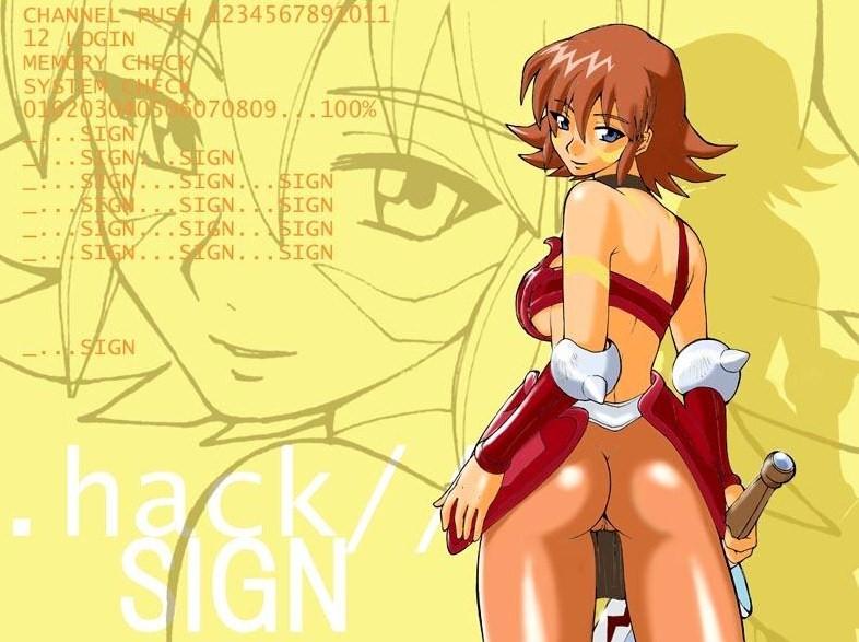 macha .hack//sign Moondragon and phyla-vell