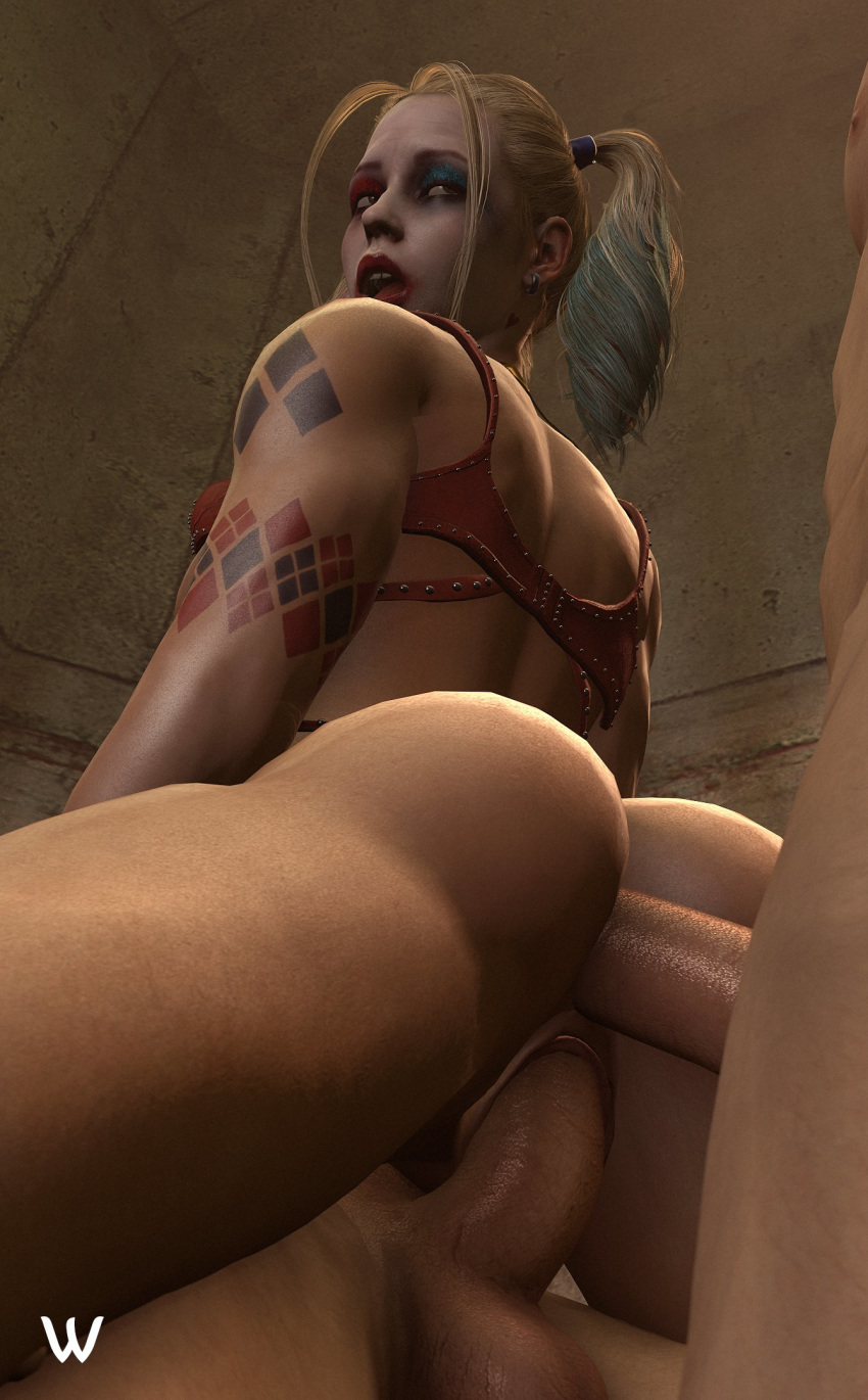 naked quinn harley and poison ivy Dead or alive 5 kasumi