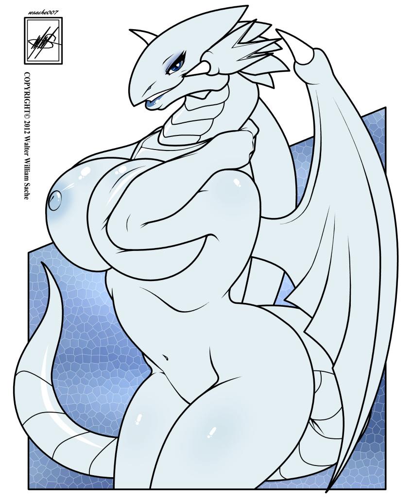 dragon blue eyes white cartoon Hayate no gotoku!!