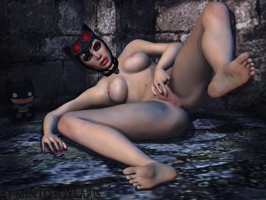 naked catwoman city arkham batman Chivalry of a failed knight stella naked
