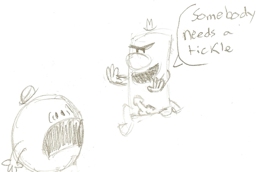 gus from uncle mr grandpa Spooky's house of jumpscares specimen 3
