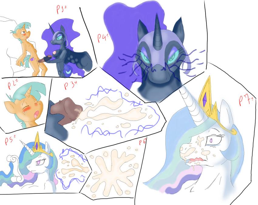 and luna princess celestia Dbs female god of destruction