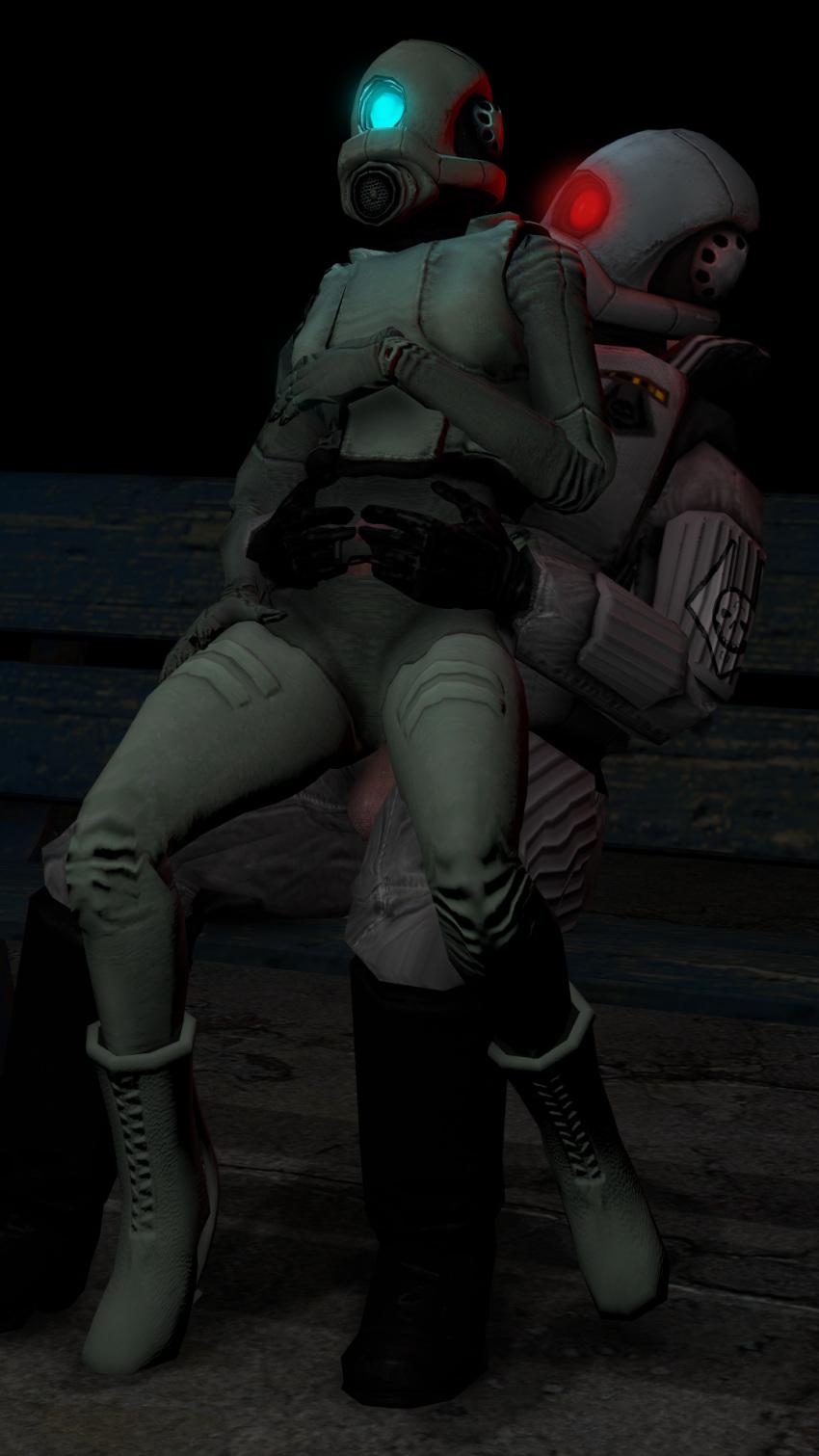 combine elite half life 2 My hero academia invisible girl hentai
