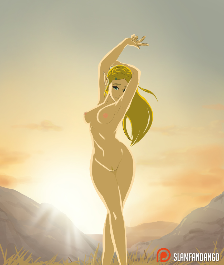 breath zelda wild nude mod of the Breaking the quiet (part 2 btq animopron)