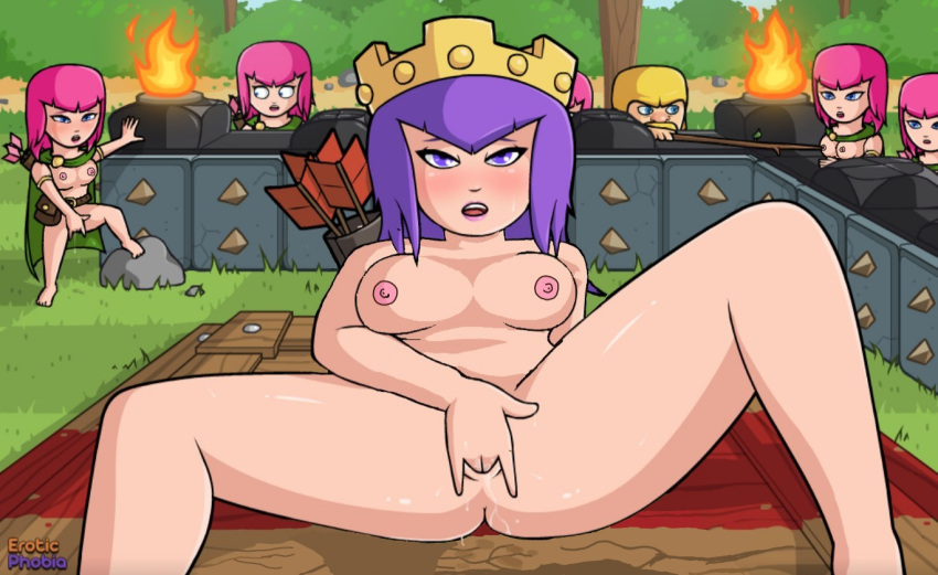 witch clash of hentai clans King of the hill