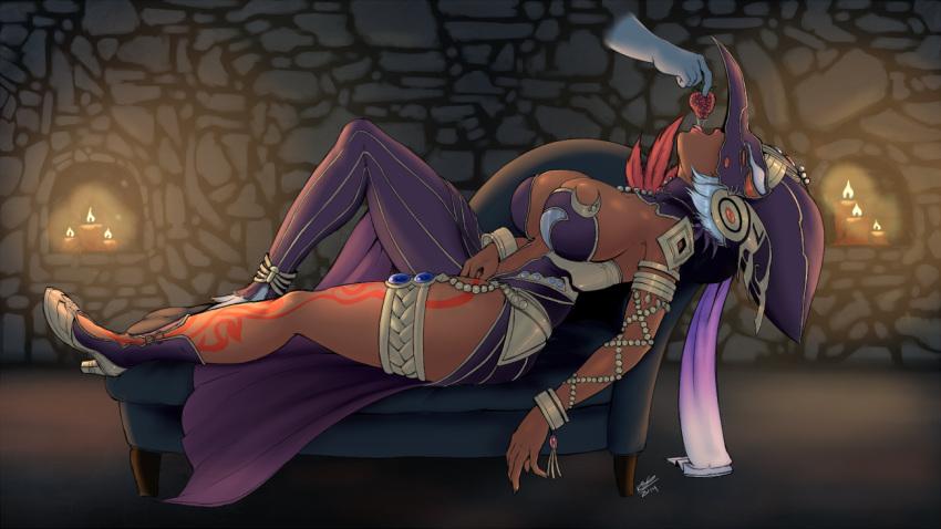 shiek of the legend zelda The seven deadly sins nude