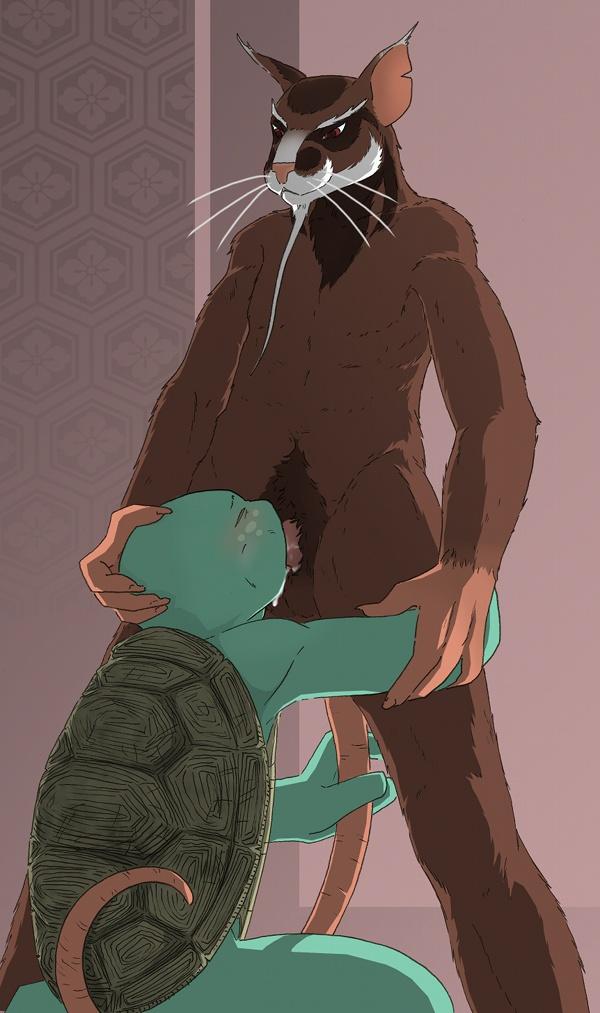 turtles ninja squirrelanoids mutant teenage [nighthawk] kabe ni hamatte ugokenai! 2