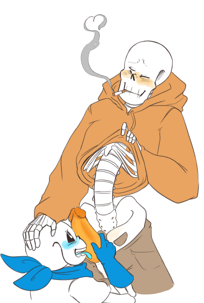 x frisk papyrus sans x Ardia trials in tainted space